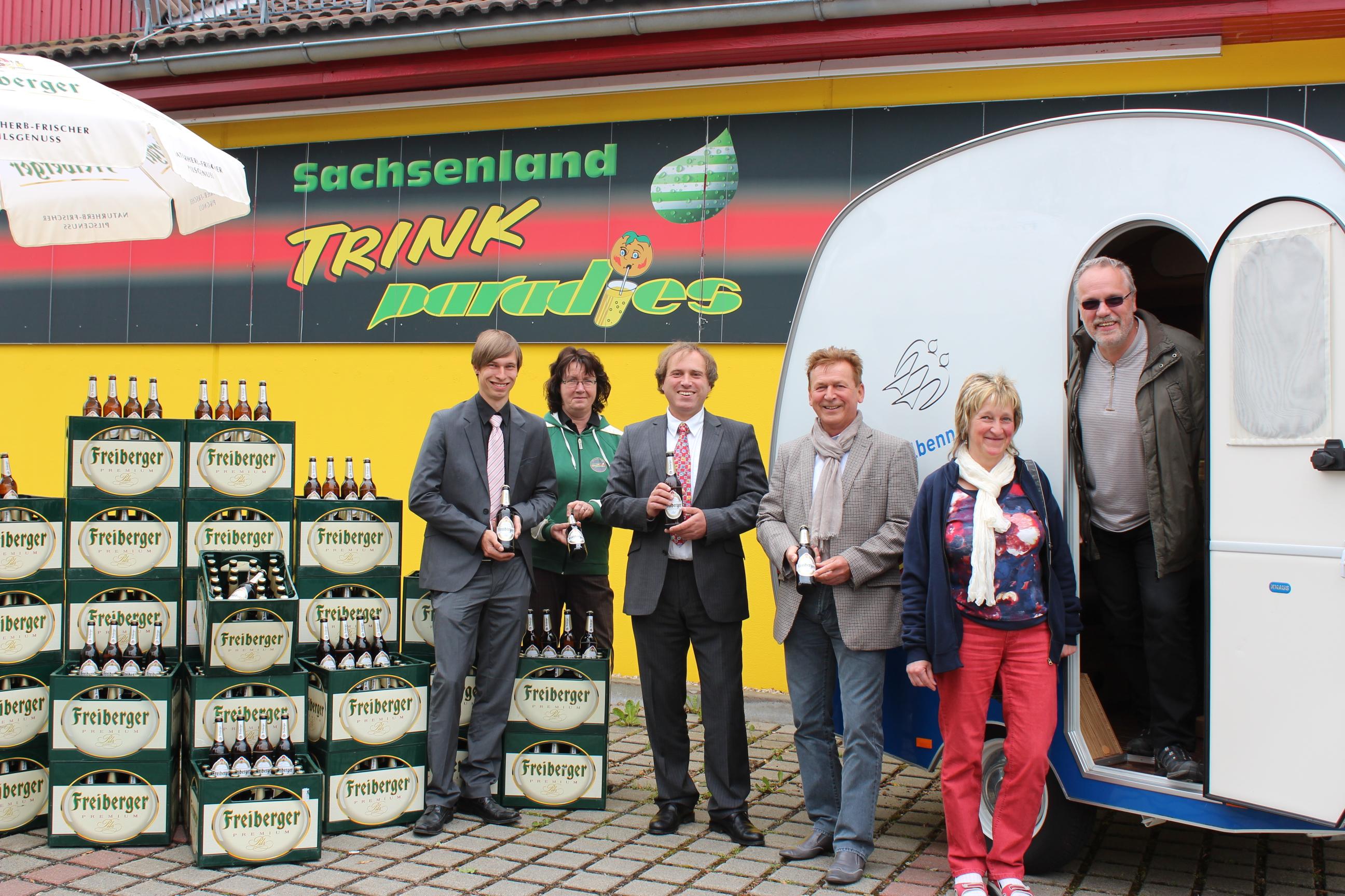 Verkaufsagentur Sachsenland Trinkparadies - Promotion-Tour
